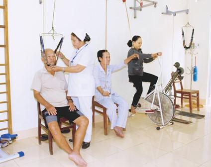 Vật lý trị liệu là dùng lực cơ học trong điều trị bệnh