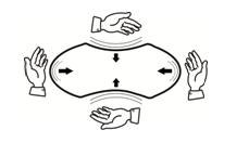 Hướng dẫn mở túi và sử dụng gối bông ép hơi