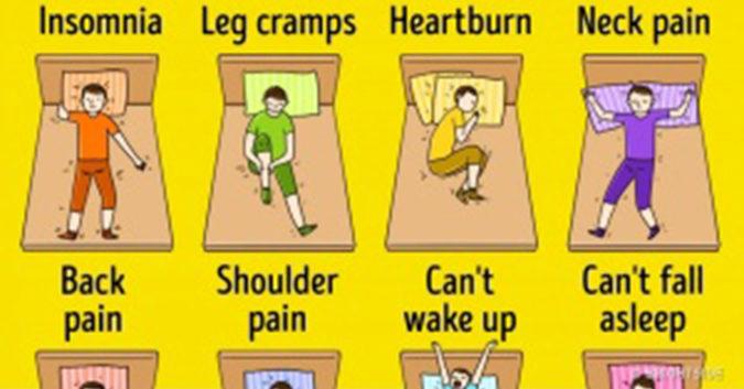 Chỉ cần thay đổi tư thế ngủ, vấn đề sức khỏe của bạn sẽ được giải quyết ngay