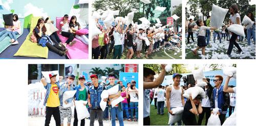 Lễ hội đập gối đã có mặt tại Việt Nam