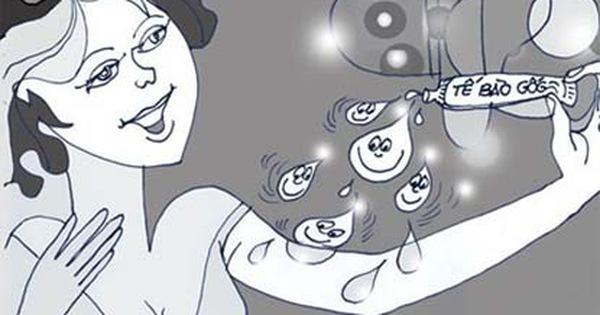 Làm đẹp bằng tế bào gốc: 'Đừng biến mình thành chuột bạch'