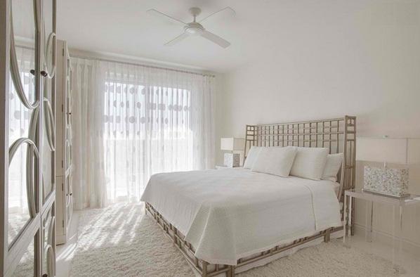 phòng ngủ trắng