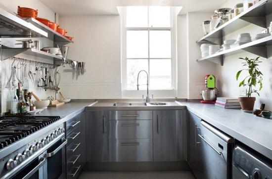 Lời khuyên lắp tủ bếp hình chữ U đẹp