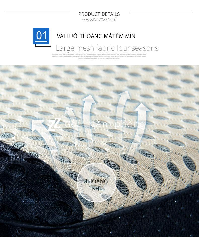 vải lưới mát