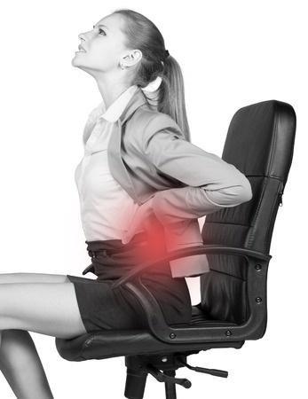 Đau lưng khi ngồi ghế
