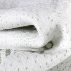Gối Bamboo cao su non vỏ cotton sợi tre hàng chuẩn GDH-03
