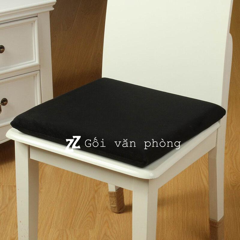 Nệm ghế vuông 40x40x5cm cao su non cực êm GLM-03