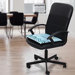 Đệm lót ghế vuông 40x40x5cm vỏ mát có hạt bám dính GLM-07