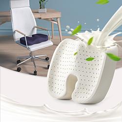 Gối lót ghế (đệm ngồi) cao su thiên nhiên GLM-08