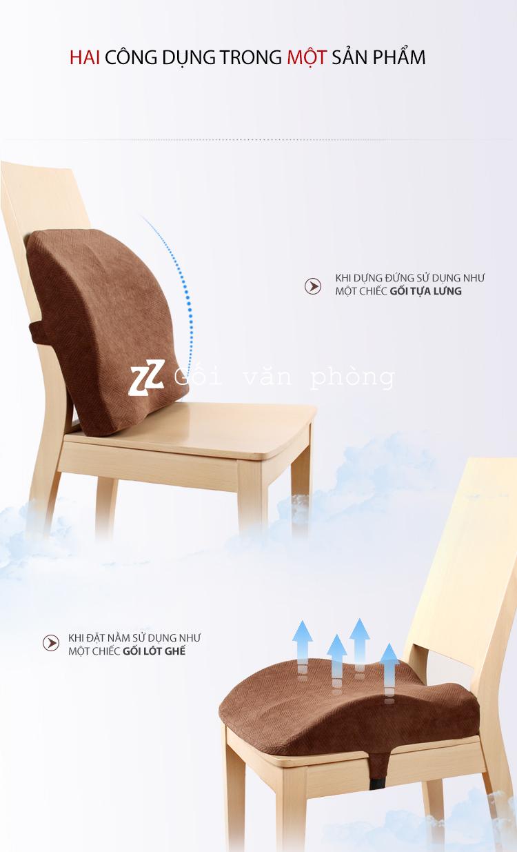 Tựa lưng và lót ghế