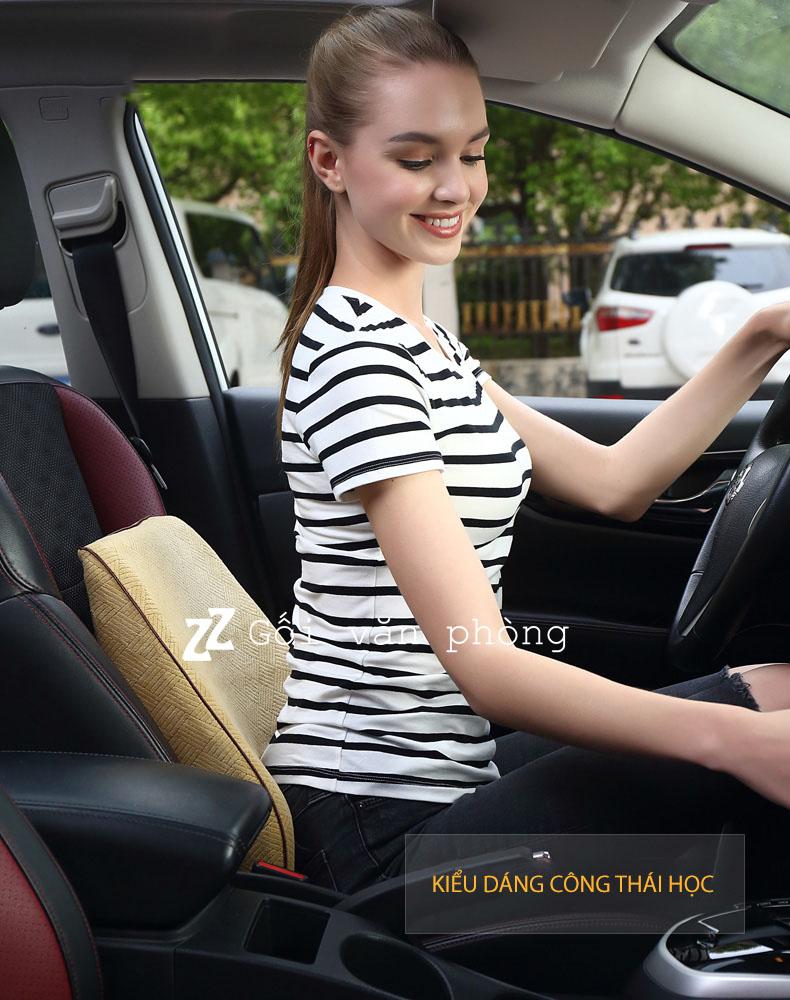 Gối đệm lưng ô tô