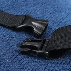 Gối tựa lưng ghế ô tô cao su non vừa với mọi loại xe con GTL-06