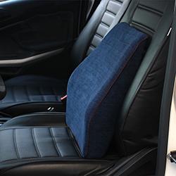 Gối tựa lưng ghế ô tô vỏ nhung cao cấp GTL-06