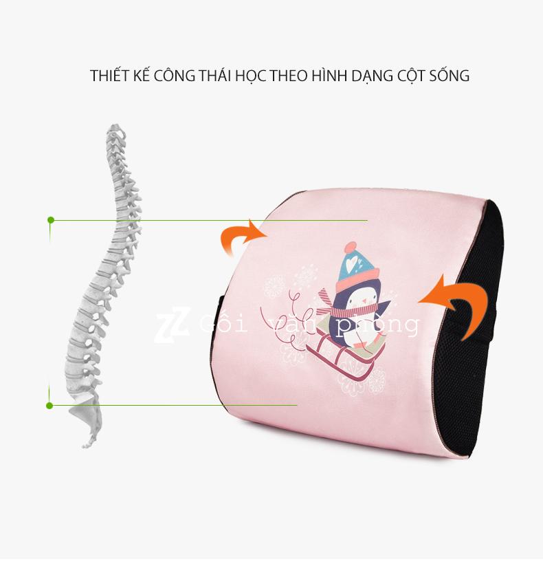 gối chống đau lưng