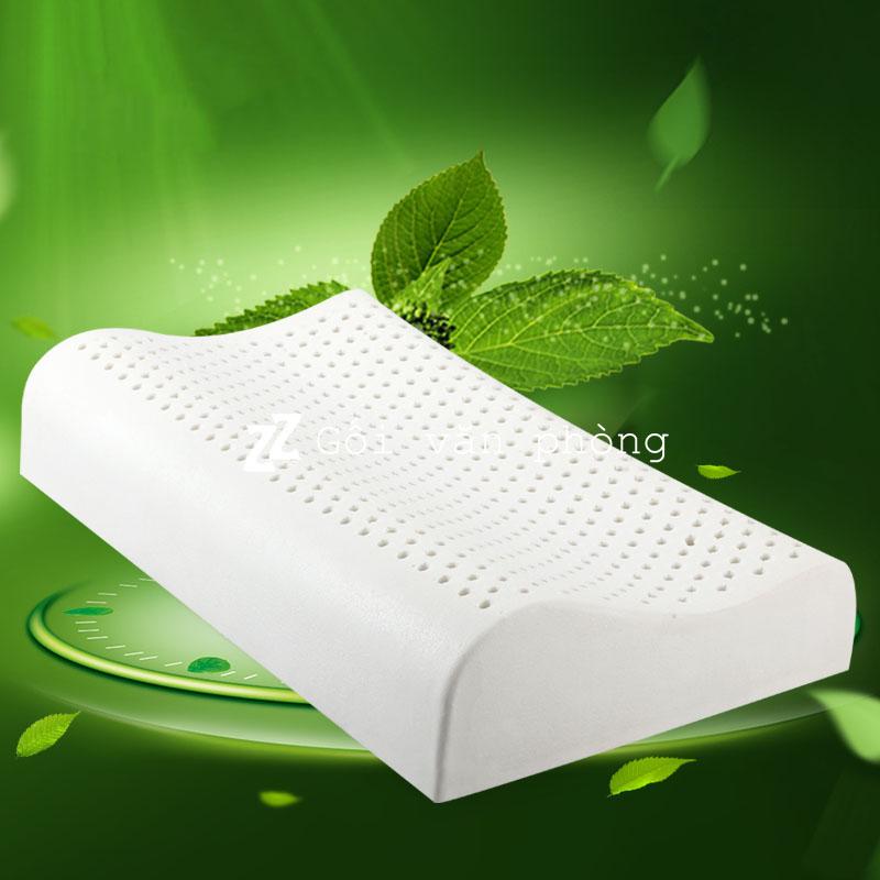 Gối ngủ cao su thiên nhiên chống ngáy ngủ 2 kích cỡ LDH-01