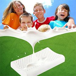 Gối trẻ em cao su thiên nhiên cho bé 2 đến 8 tuổi LTE-01